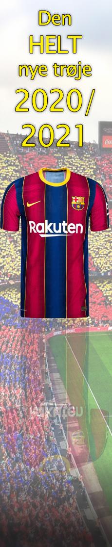 Få den nye Barcelona-trøje 2020/2021