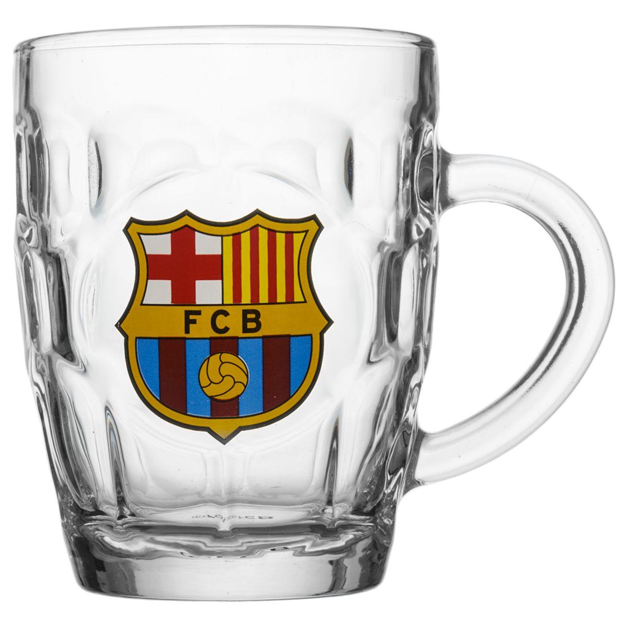 Barcelona - ølkrus m. logo
