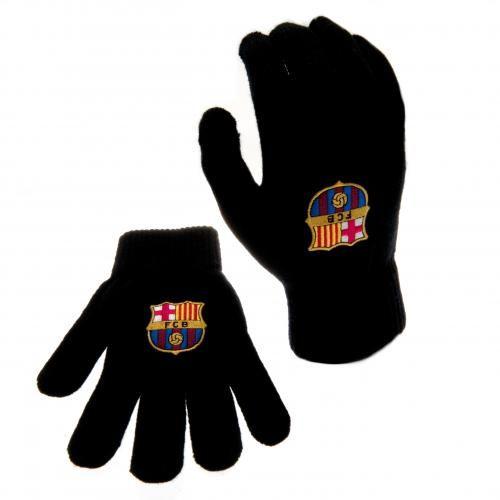 Barcelona handsker m. logo