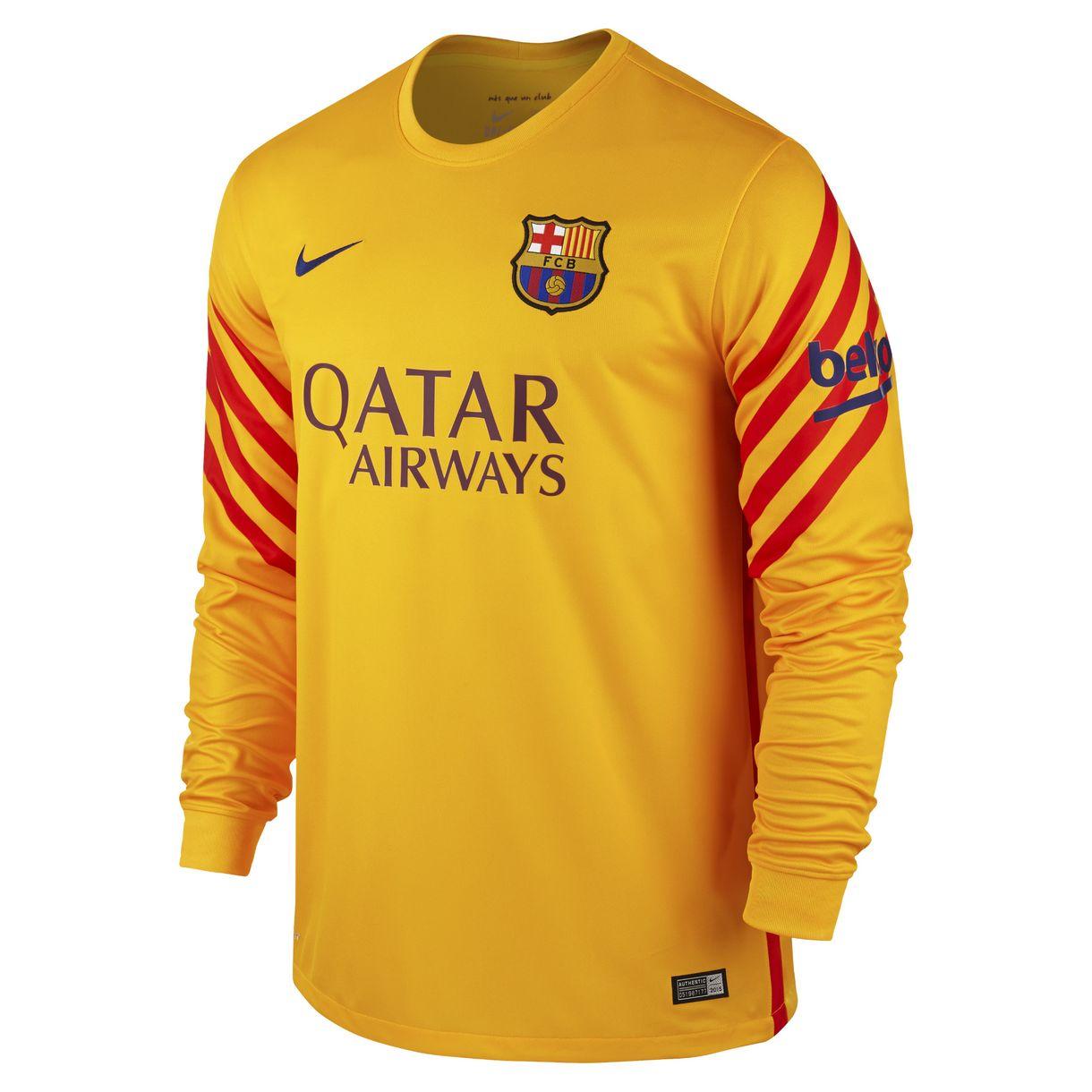 Barcelona - målmandstrøje