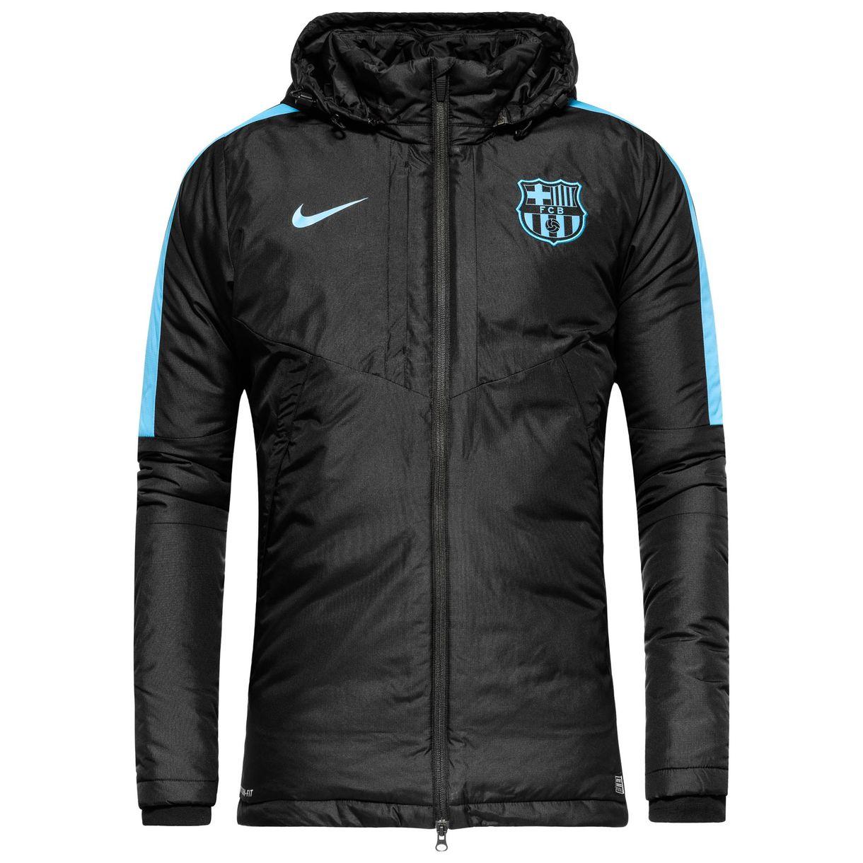 Barcelona jakke Fill Sort