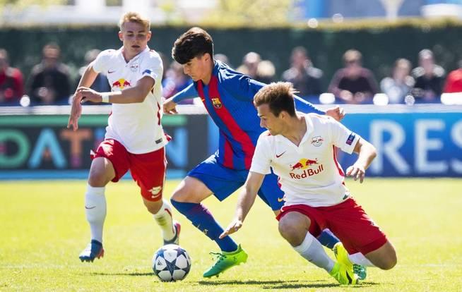 De nuværende fem største Barca-talenter
