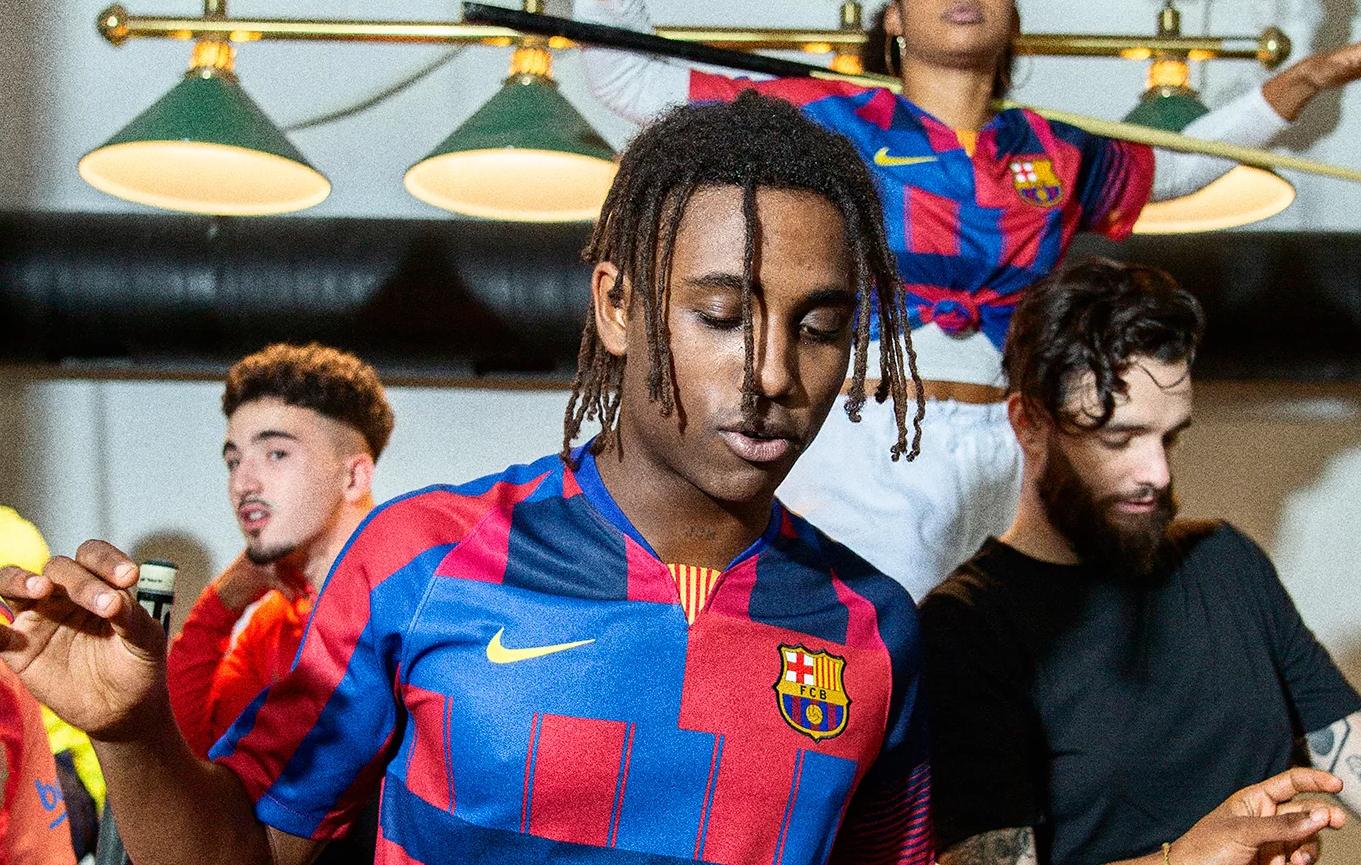 Jubilæum: Nikes specielle FC Barcelona-trøje