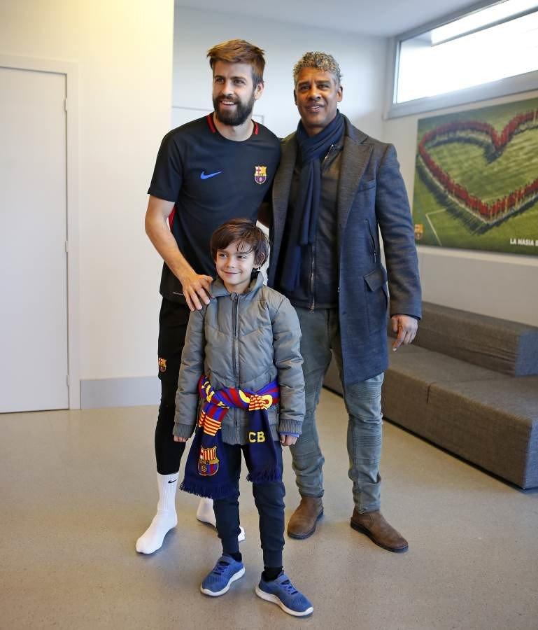 Billeder: Frank Rijkaard besøgte Barcelona