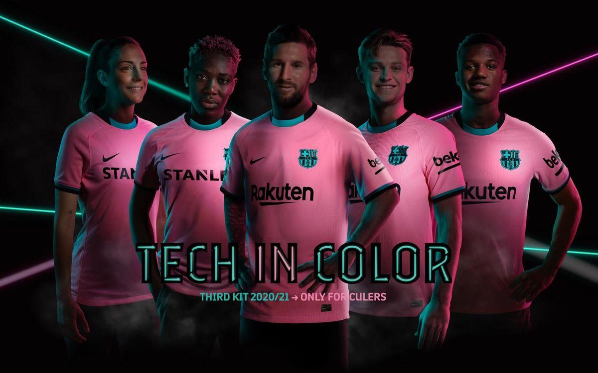 Se alle billederne af den nye tredjetrøje