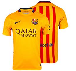 Barcelona udebanetrøje 2015/2016