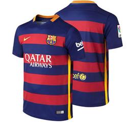Barcelona hjemmebanetrøje 2015/2016