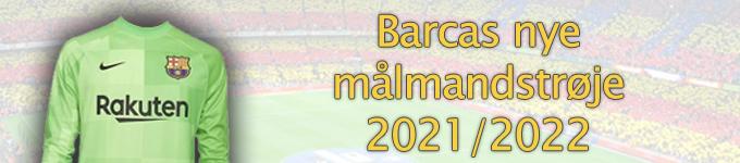 Barcas målmandstrøje 2021/2022