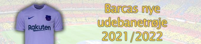 Barcas udebanetrøje 2021/2022
