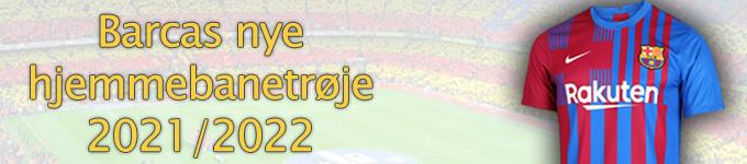 Barcas hjemmebanetrøje 2021/2022