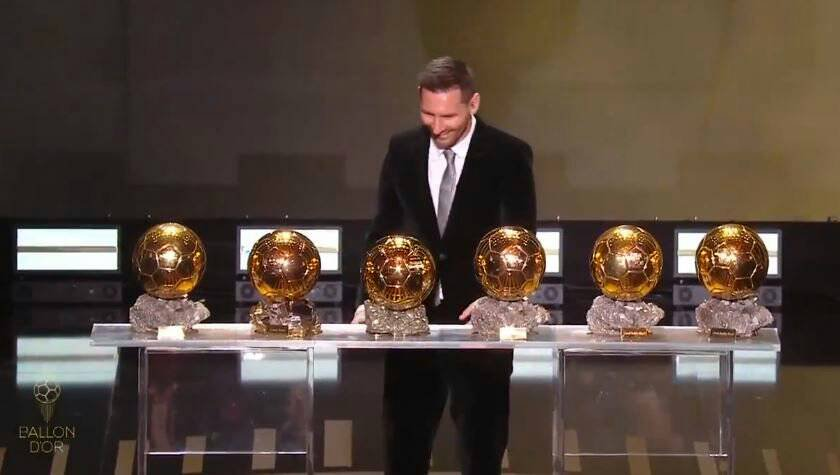 Video: Her modtager Messi sin 6. Ballon d'Or