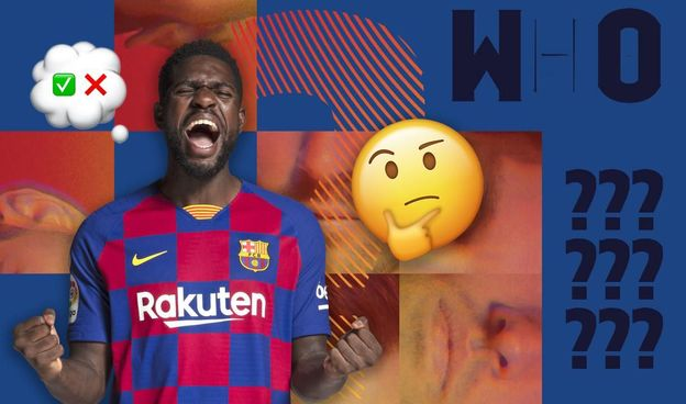 Video: Barca Faces med Samuel Umtiti