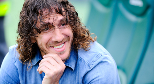 Interview med Puyol om Messi, Neymar og Xavi