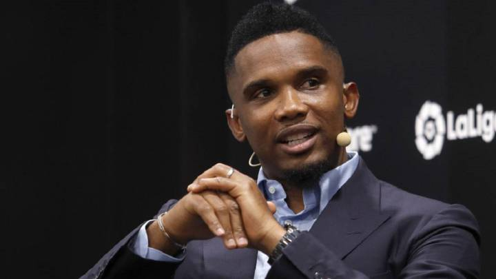 Eto'o: Glad for at Messi bliver i Barca