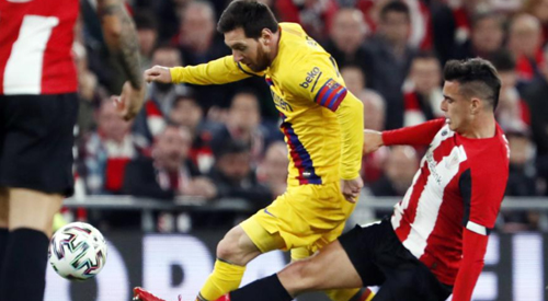 Copa del Rey: Athletic Bilbao 1-0 FC Barcelona