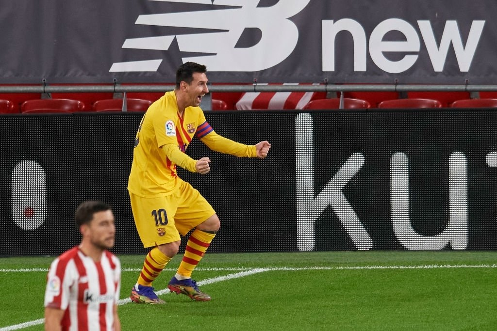 La Liga: Athletic Bilbao 2-3 FC Barcelona