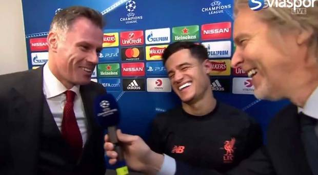 Video: Barcelona ringer op under interview