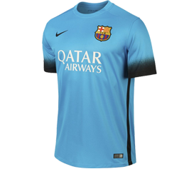 Barcelona tredjetrøje 2015/2016
